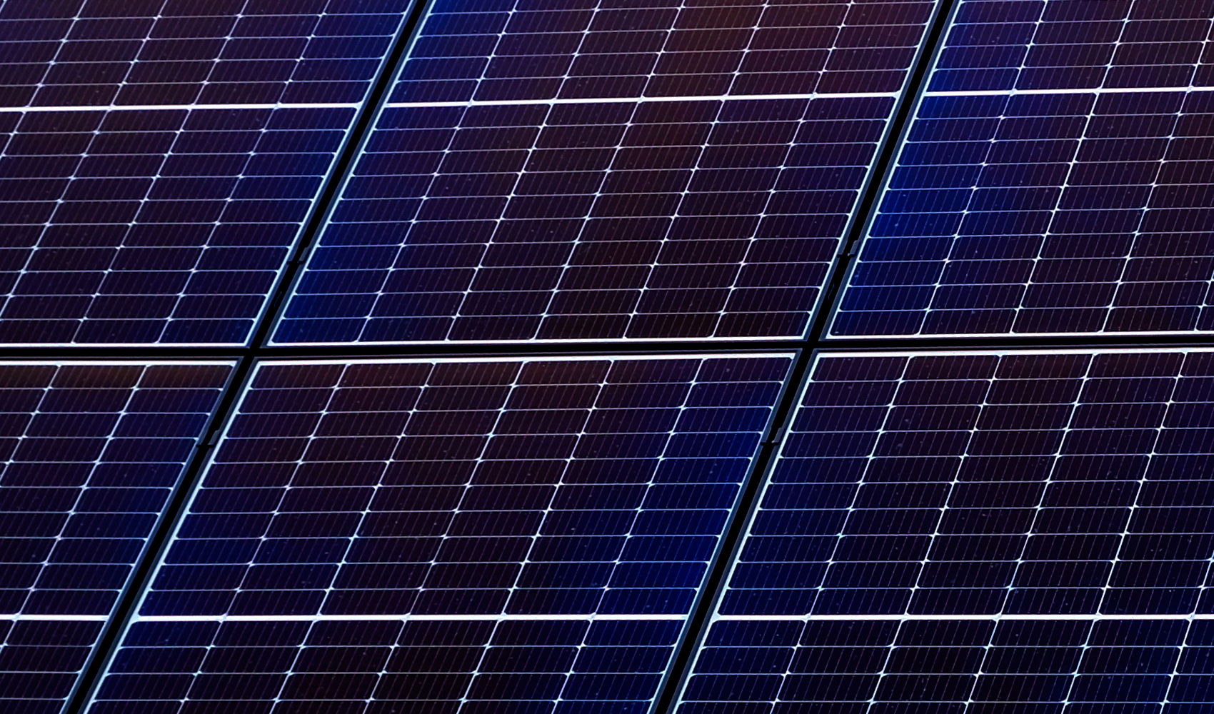 Zoom to a solar panel on a roof.